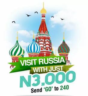 Glo GO Russia Promo: Win a Trip to Russia for the FIFA World Cup