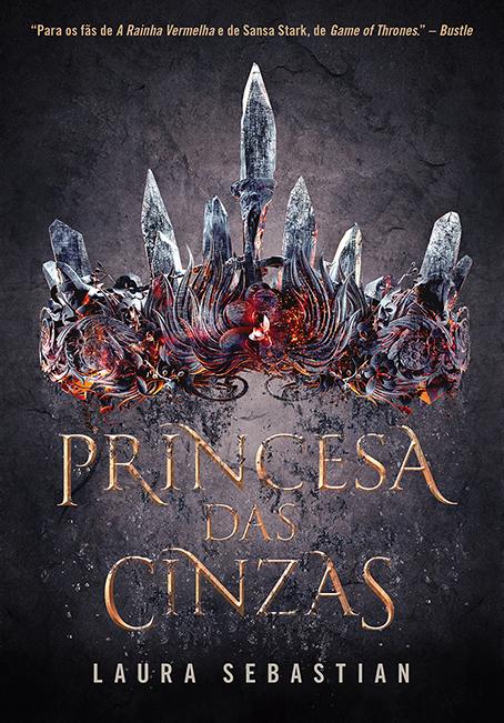 livro novo arqueiro fantasia princesa das cinzas de laura sebastian