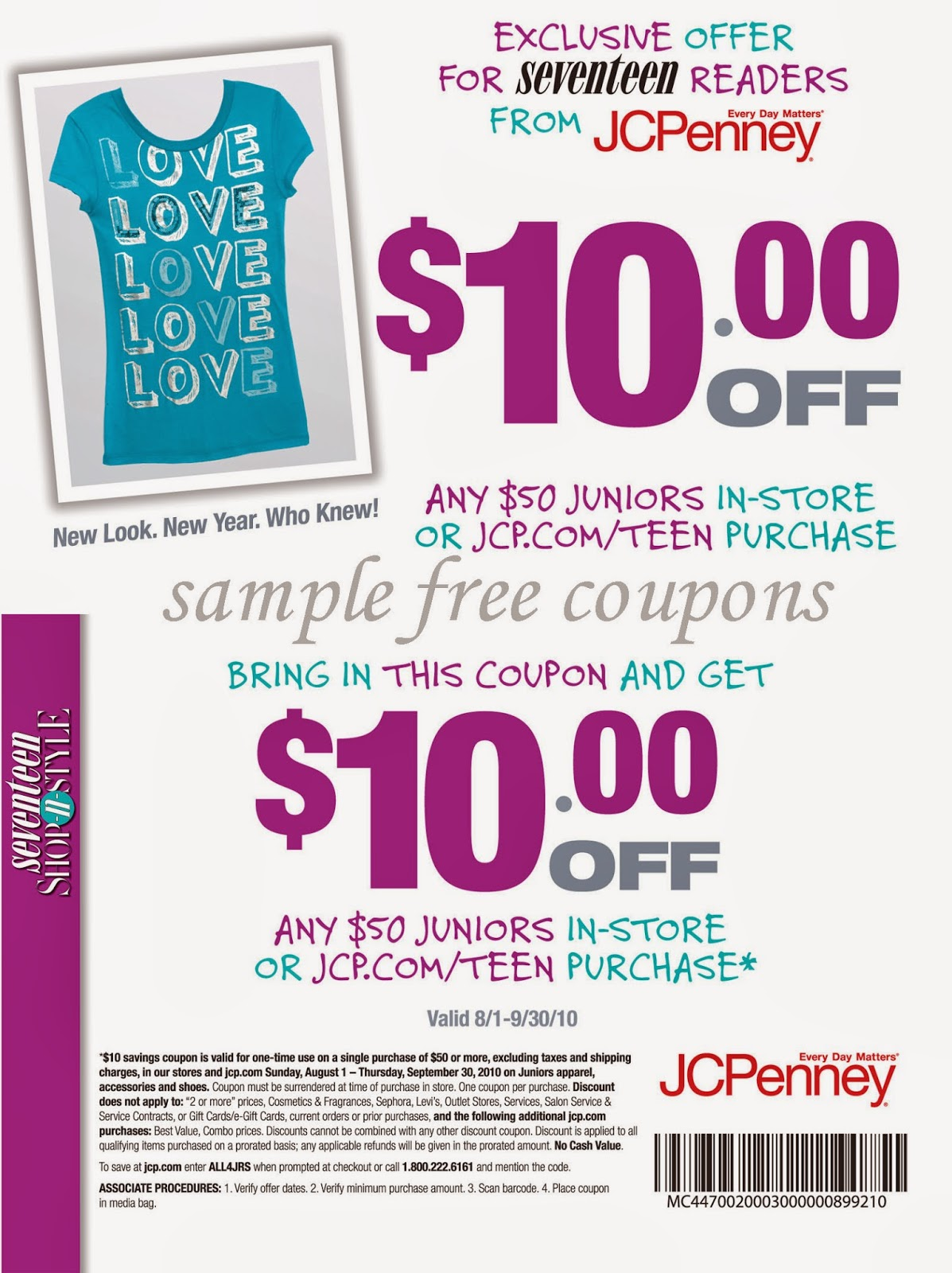 2013 Coupon Jcpenney 10