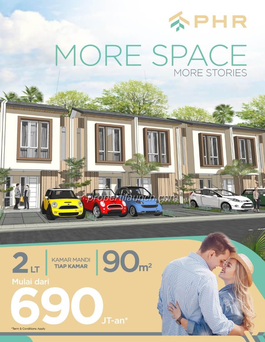 Dijual Rumah PHR Bekasi cluster Golden