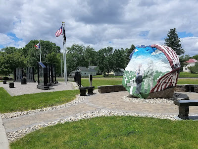 Freedom Rock Tour - Hardin County, Ackley, Iowa