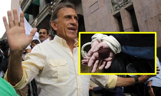 Tantas Críticas a AMLO y Yunes es todo un campeón, logra mantener a Veracruz en primer lugar…de secuestros; suman 88 en seis meses