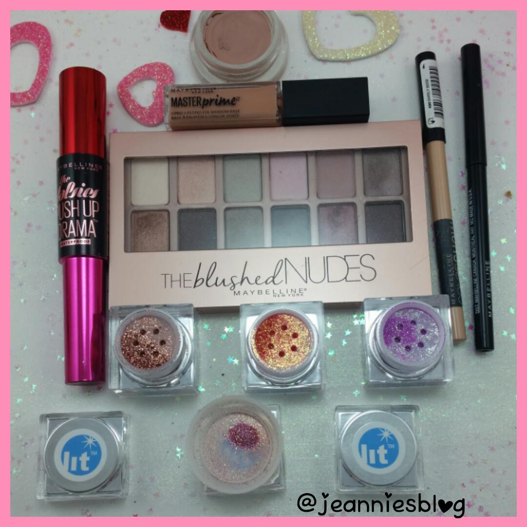 Romantic Eyes With Shimmers and Nude Lips | Jeannie's Blog