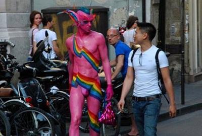 Demon homosexual spirit