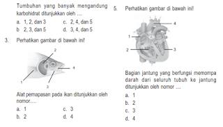 download Update Soal UAS IPA Kelas 5 Semester 1 / Ganjil  ktsp bukan kurtilas 2013