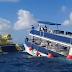 Se hunde catamarán en Cozumel