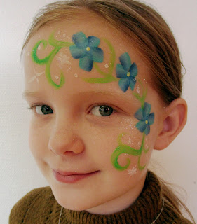 Facepaint flowers