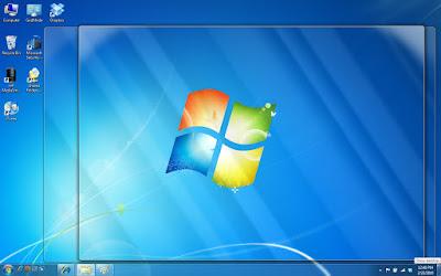 Fitur Desktop Preview di Windows 7