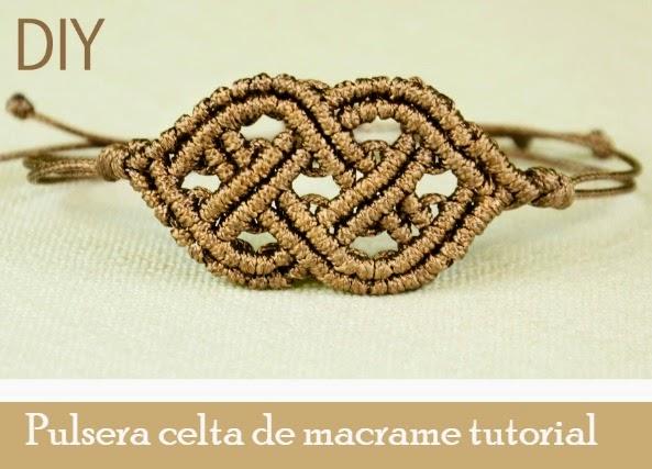 pulseras, brazaletes, macrame, pulsera celta, pulsera feudal, bisutería