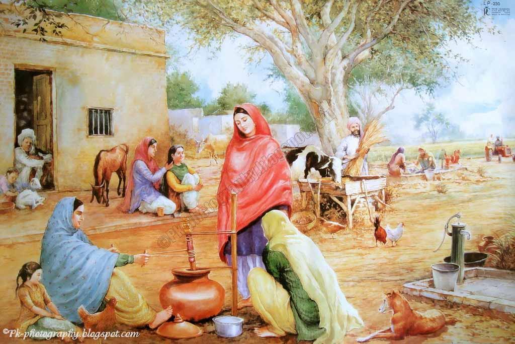 essay on punjabi culture in punjabi language
