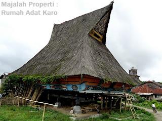 Desain Bentuk Rumah Adat Karo dan Penjelasannya, Rumah Adat Nusantara