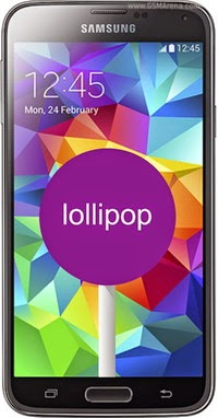 Update OS Samsung Galaxy S5 ke Android Lollipop
