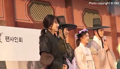 Love in the Moonlight, Moonlight Drawn By Clouds, Kim Yun Seong, Jin Young, Hong Ra On, Hong Sam Nom, Kim You Jung, Park Bo Gum, Lee Yeong, Kim Byeong Yeon, Kwak Dong Yeon, Hanbok fan meeting, fan meeting, Entertainment Weekly, 2016.10.24,