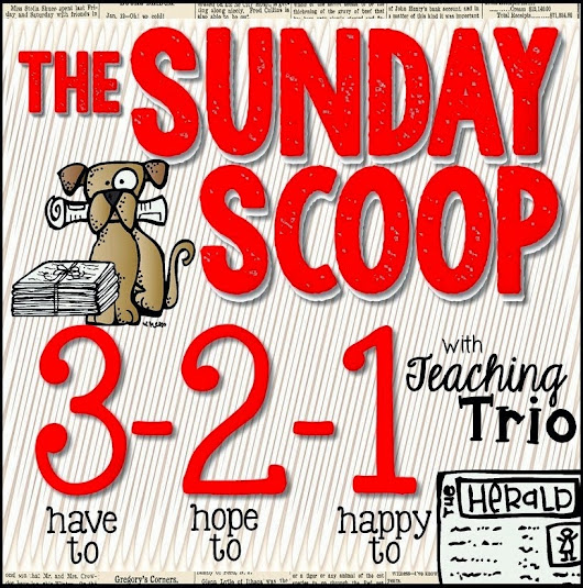 Sunday Scoop!