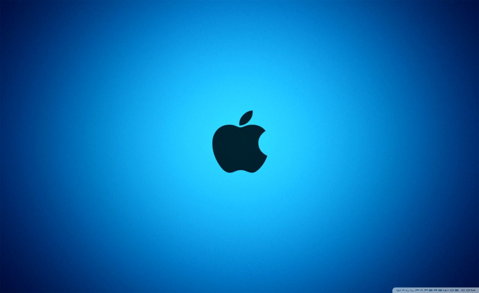 Blue Apple Logo Wallpapers Wallpapers Dope