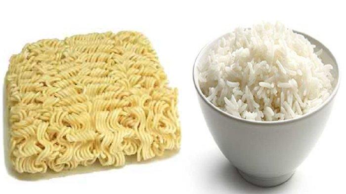Bahaya Makan Mie Instant Dengan Nasi - brosehat.com