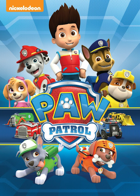 Cartel de la serie de animación canadiense La Patrulla Canina