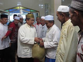 Walikota Buka di Masjid Darrutaqwa