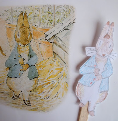 Peter Rabbit Puppet for Imaginative Play