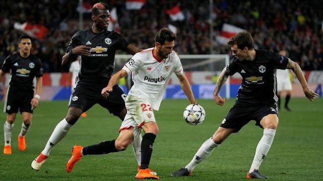 Liga Champions: Sevilla-MU Berakhir Imbang Tanpa Gol