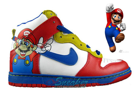 online retailer 4f2cd 3a446 But it makes me recall the good childhood days, Im still love the Super  Mario with big nose . So when I see this shoe, ...