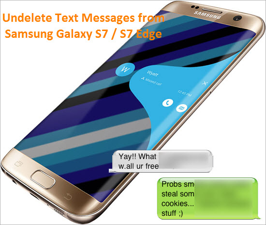 how to delete text messages on samsung s7