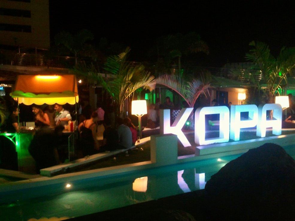 Terraza Discoteca El Kopa Las Palmas  Las Palmas de