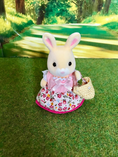 Sylvanian Families JP Wildflower Rabbit Sister