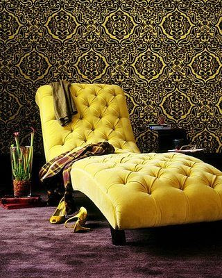 Chaise amarela