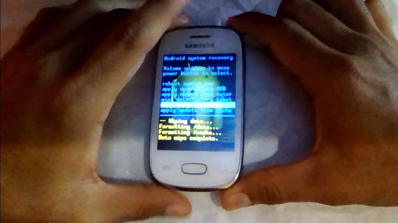 fomatear el cache del samsung galaxy pocket