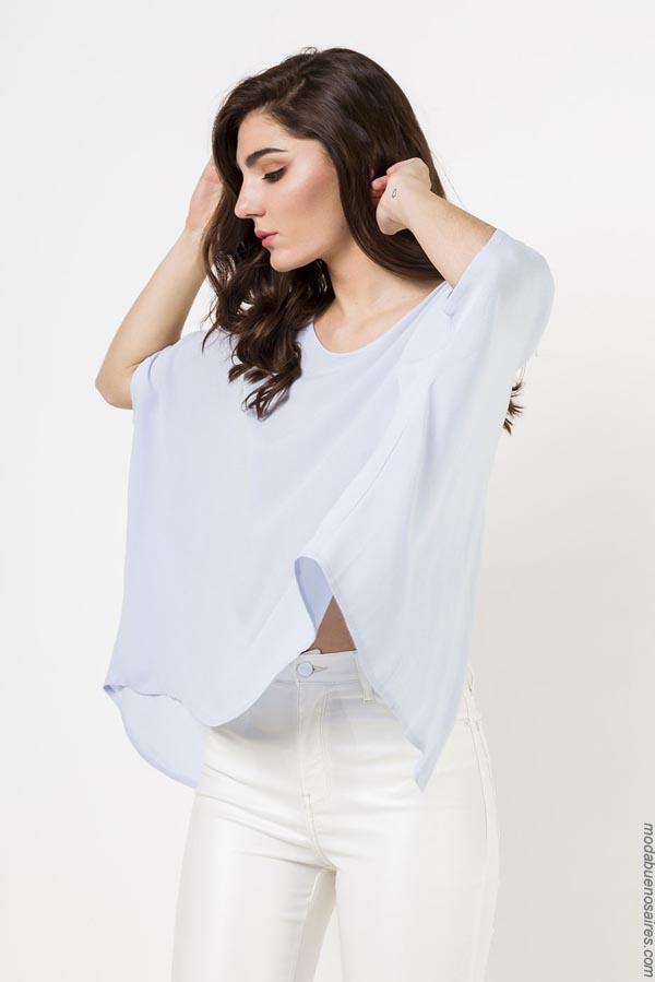 Blusas de moda para mujer verano 2019. Blusas de verano 2019