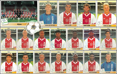 Panini voetbal 95 Ajax