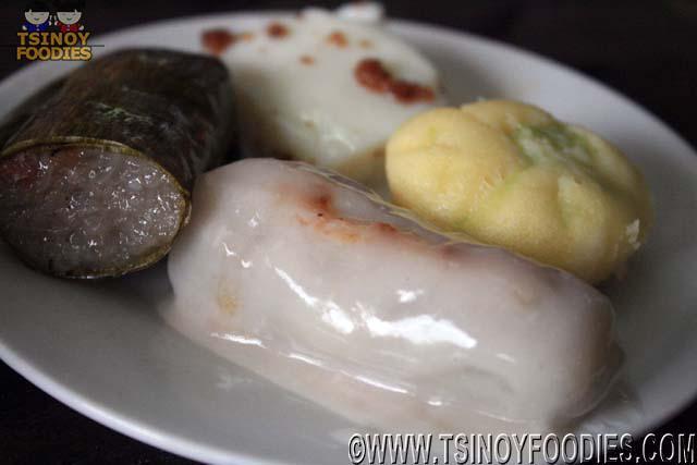 Suman Mochi Puto Tibuk