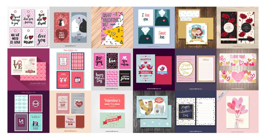 tarjetas pro el día de san valentin 2017