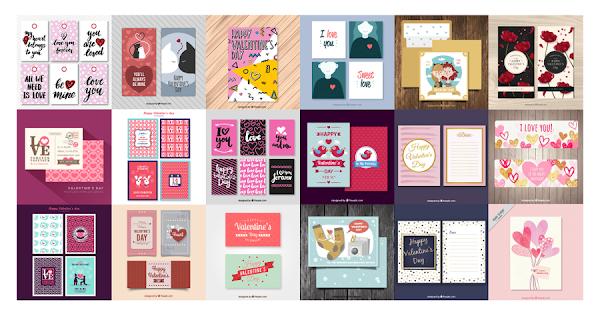 +12 tarjetas de san valentin 2017 gratuitas