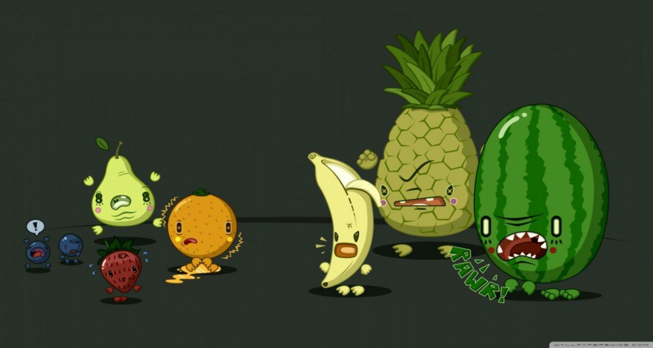 Funny Fruit Wallpapers Bryanbakerlouderthan