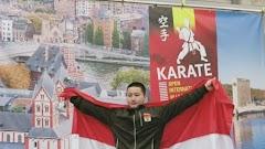Karateka Muda Asal Pati Raih Emas di Belgia
