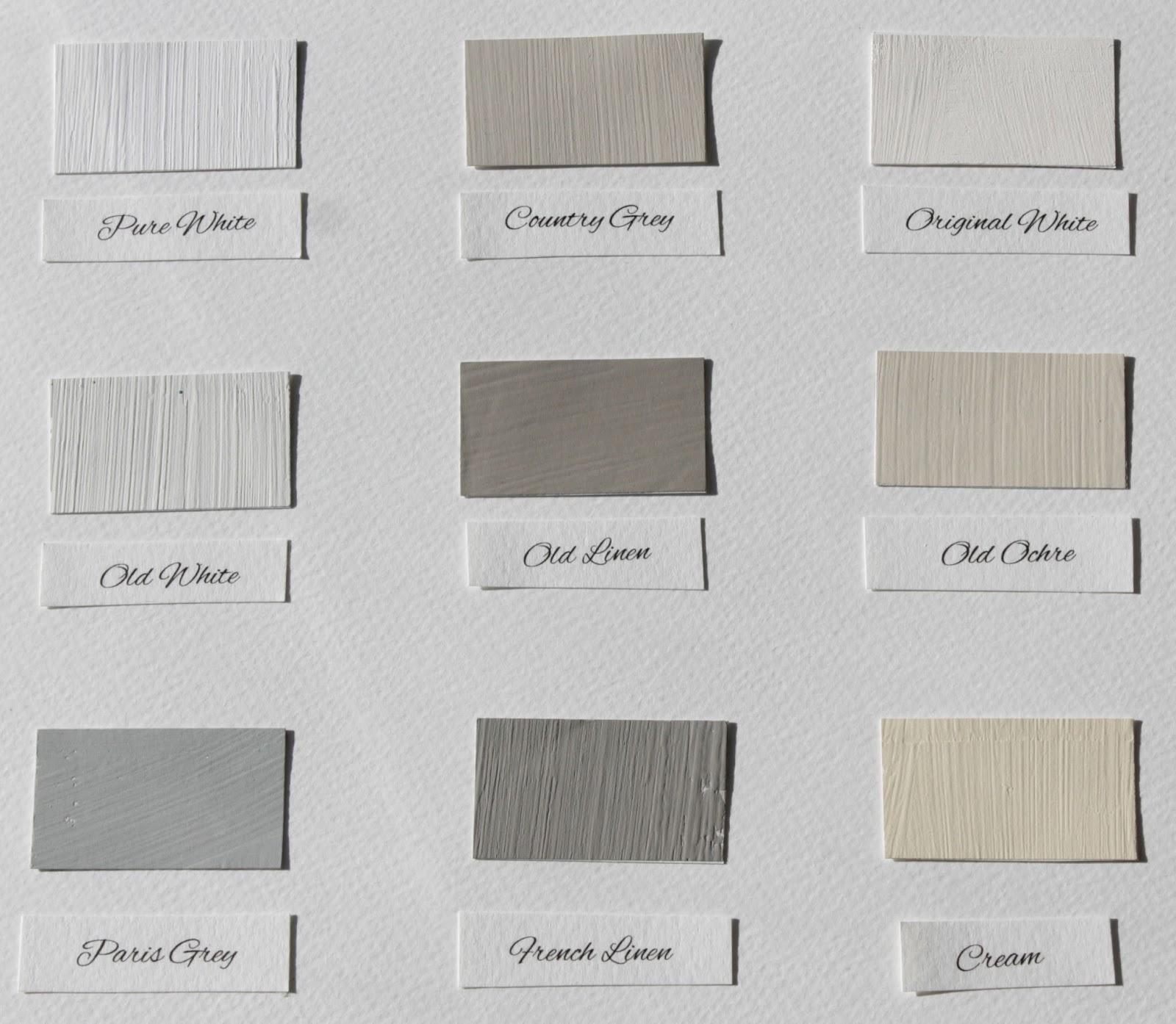 Vernice Chalk Paint Annie Sloan annie sloan italia: i colori chalk paint