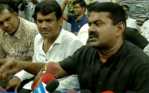 People must betray parties who buy votes for money : Seeman