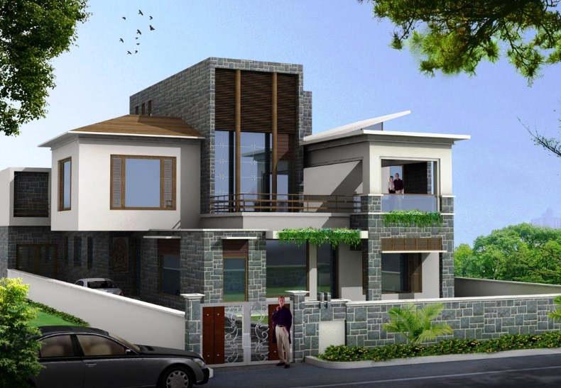 Desain Rumah Mewah 2 Lantai Terbaru