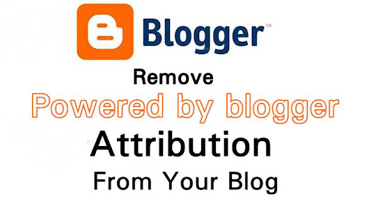 Step By Step Guide To Remove Powered By Blogger From Your Blogger Website ~ Cute Knowledge