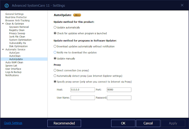 Advanced System Care 11.2.0.210 Pro with License Code Till 2019