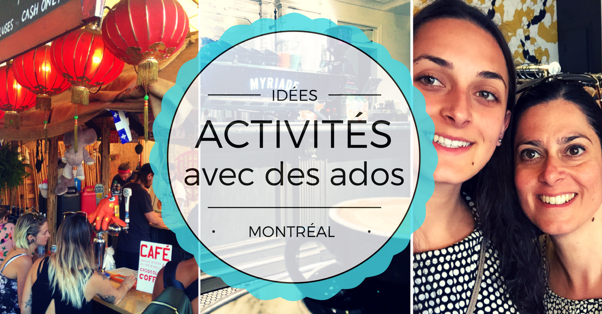 Activités gratuites (ou presque) avec des ados à Montréal
