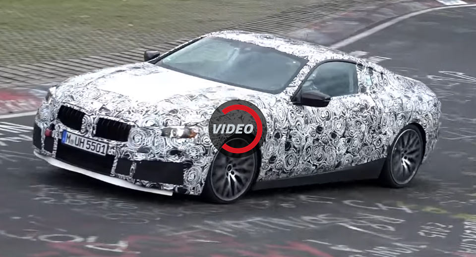 2019 BMW 8Series Winds Its Way Through The Ring