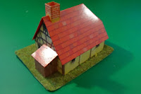 Papercut house from 5th edition starterbox - Back