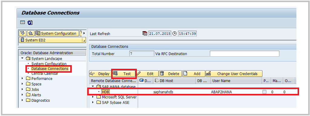 HANA Tutorials: SAP ABAP – HANA connectivity using secondary