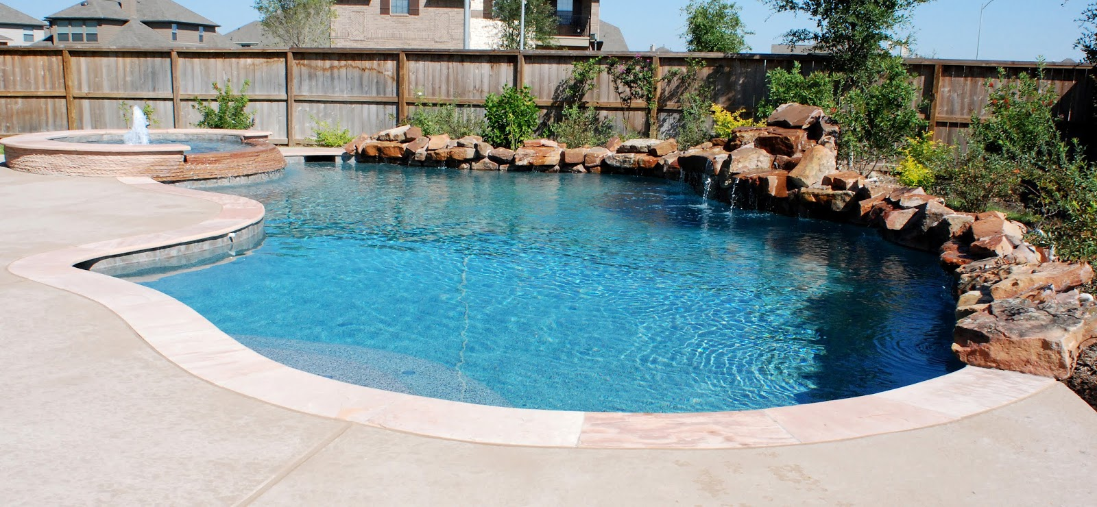 Custom Free From Inground Rock Pools DFW  5