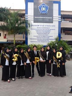 28 Mahasiswa Teknologi Pendidikan Ikut Yudisium