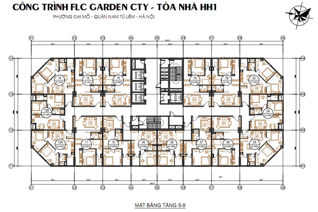 thiet ke flc garden city