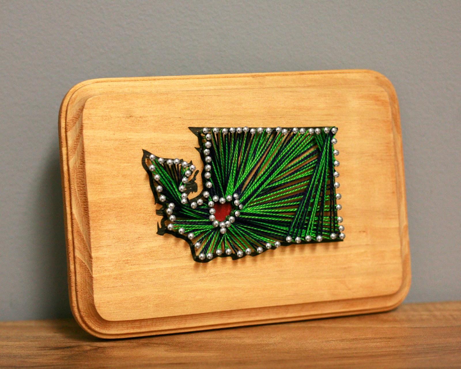 Ben franklin crafts and frame shop make it yourself wa state string art make it yourself wa state string art solutioingenieria Choice Image